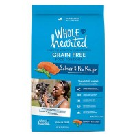 WholeHearted Grain Free All Life Stages Salmon and Pea Recipe Dry Dog Food, 25 lbs.