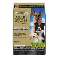 CANIDAE All Life Stages Multi-Protein Formula Chicken, Turkey, Lamb & Fish Meals Dog Food, 44 lbs.