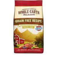 Whole Earth Farms Grain Free Recipe with Pork, Beef & Lamb Dry Dog Food, 25 lbs.