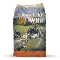 Taste of the Wild High Prairie Grain-Free Roasted Venison & Bison Dry Puppy Food, 30 lbs.