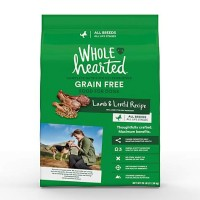 WholeHearted Grain Free All Life Stages Lamb and Lentil Formula Dry Dog Food, 25 lbs.