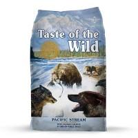 Taste of the Wild Pacific Stream Grain-Free Smoked Salmon Dry Dog Food, 30 lbs.