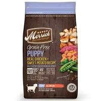 Merrick Grain Free Real Chicken + Sweet Potato Puppy Food, 25 lbs.