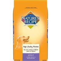 Nature's Recipe Lamb Meal & Rice Adult Dog Food, 30 lbs.
