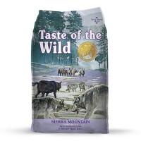Taste of the Wild Sierra Mountain Grain-Free Roasted Lamb Dry Dog Food, 30 lbs.