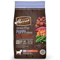 Merrick Grain Free Real Texas Beef + Sweet Potato Puppy Food, 25 lbs.