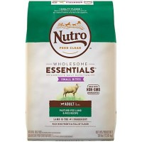 Nutro Wholesome Essentials Small Bites Pasture-Fed Lamb & Rice Recipe Adult Dry Dog Food, 30 lbs.