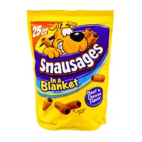 Snausages Dog Treats in a Blanket Beef & Cheese Flavored