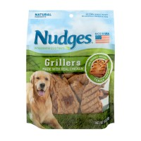 Nudges Dog Treats Grillers Made with Real Chicken