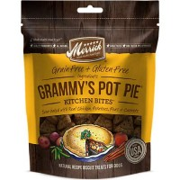 Merrick Grain Free Kitchen Bites Grammy's Pot Pie Dog Treats, 9 oz.