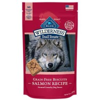 Blue Buffalo Blue Wilderness Trail Treats Salmon Biscuits Dog Treats, 10 oz.