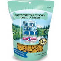 Natural Balance L.I.T. Limited Ingredient Treats Sweet Potato & Chicken Formula Small Breed Dog Treats, 8 oz.