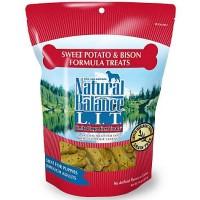 Natural Balance L.I.T. Limited Ingredient Treats Sweet Potato & Bison Formula Dog Treats, 14 oz.