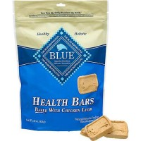 Blue Buffalo Blue Health Bars With Chicken Liver Dog Treats, 16 oz.