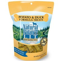 Natural Balance L.I.T. Limited Ingredient Treats Potato & Duck Formula Treats, 28 oz.