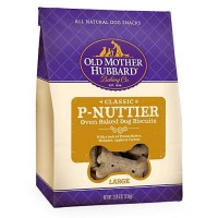 Old Mother Hubbard Crunchy Classic Natural P-Nuttier Large Dog Biscuits, 3.3 lbs.