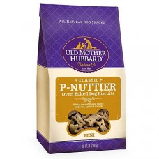 Old Mother Hubbard Crunchy Classic Natural P-Nuttier Mini Dog Biscuits, 20 oz