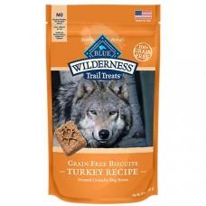 Blue Buffalo Blue Wilderness Trail Treats Turkey Biscuits Dog Treats, 24 oz.