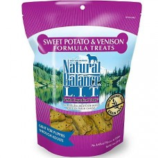 Natural Balance L.I.T. Limited Ingredient Treats Sweet Potato & Venison Formula Dog Treats, 14 oz.