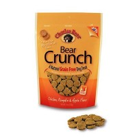 Charlee Bear Grain Free Chicken, Pumpkin & Apple Bear Crunch Dog Treats, 8 oz.