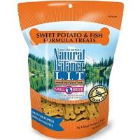 Natural Balance L.I.T. Limited Ingredient Treats Sweet Potato & Fish Formula Small Breed Dog Treats, 8 oz.