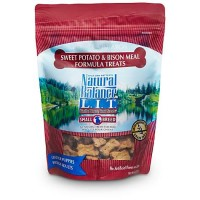 Natural Balance L.I.T. Limited Ingredient Treats Sweet Potato & Bison Formula Small Breed Dog Treats, 8 oz.