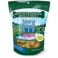 Natural Balance L.I.T. Limited Ingredient Treats Brown Rice & Lamb Meal Formula Small Breed Dog Treats, 8 oz.