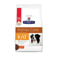 Hill's Prescription Diet k/d Kidney Care with Chicken Dry Dog Food, 27.5 lbs., Bag