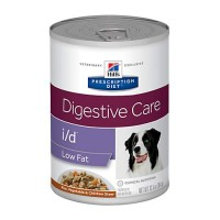 Hill's Prescription Diet i/d Low Fat Digestive Care Rice, Vegetable & Chicken Stew Canned Dog Food, 12.5 oz., Case of 12