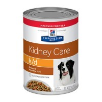 Hill's Prescription Diet k/d Kidney Care Beef & Vegetable Stew Canned Dog Food, 12.5 oz., Case of 12