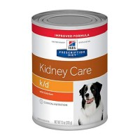 Hill's Prescription Diet k/d Kidney Care with Chicken Canned Dog Food, 13 oz., Case of 12