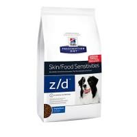 Hill's Prescription Diet z/d Skin/Food Sensitivities Original Dry Dog Food, 17.6 lbs., Bag