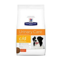 Hill's Prescription Diet c/d Multicare Urinary Care Chicken Flavor Dry Dog Food, 27.5 lbs., Bag