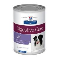 Hill's Prescription Diet i/d Low Fat Digestive Care Orginal Flavor Canned Dog Food, 13 oz., Case of 12