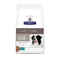 Hill's Prescription Diet l/d Liver Care Pork Flavor Dry Dog Food, 17.6 lbs., Bag