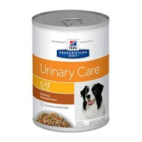 Hill's Prescription Diet c/d Multicare Urinary Care Chicken & Vegetable Stew Canned Dog Food, 12.5 oz., Case of 12