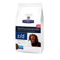 Hill's Prescription Diet z/d Skin/Food Sensitivities Small Bites Original Dry Dog Food, 7 lbs., Bag