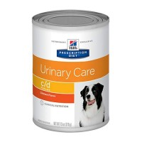 Hill's Prescription Diet c/d Multicare Urinary Care Chicken Flavor Canned Dog Food, 13 oz., Case of 12