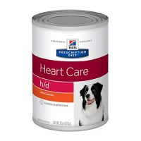 Hill's Prescription Diet h/d Heart Care with Chicken Canned Dog Food, 13 oz., Case of 12