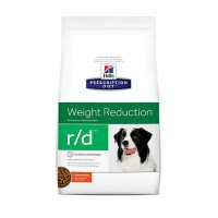 Hill's Prescription Diet r/d Weight Reduction Chicken Flavor Dry Dog Food, 27.5 lbs., Bag