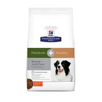 Hill's Prescription Diet Metabolic + Mobility, Weight + Joint Care Chicken Flavor Dry Dog Food, 24 lbs., Bag