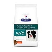 Hill's Prescription Diet w/d Digestive/Weight/Glucose Management Chicken Flavor Dry Dog Food, 27.5 lbs., Bag