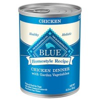 Blue Buffalo Blue Homestyle Recipe Chicken Dinner with Garden Vegetables Adult Dog Food, 12.5 oz., Case of 12