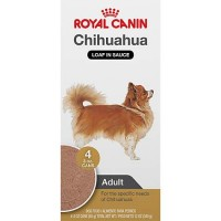 Royal Canin Breed Health Nutrition Chihuahua Loaf In Sauce Dog Food Multipack, 3 oz, Case of 4