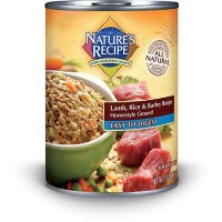 Nature's Recipe Easy to Digest Lamb, Rice & Barley Formula Canned Dog Food, 13.2 oz., Case of 12