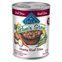 Blue Buffalo Blue's Stew Hearty Beef Stew Adult Canned Dog Food, 12.5 oz., Case of 12