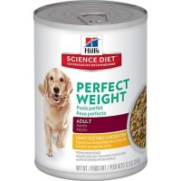 Hill's Science Diet Adult Perfect Weight Hearty Vegetable & Chicken Stew Adult Wet Dog Food, 12.5 oz., Case of 12
