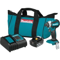 Makita 18-Volt LXT Lithium-Ion Brushless Cordless Impact Driver Kit with (1) Battery 3.0Ah