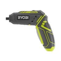 Ryobi 4-Volt QuickTurn Cordless 1/4 in. Lithium-Ion Hex Screwdriver Kit