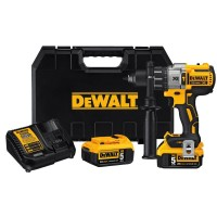 DEWALT 20-Volt MAX XR Lithium-Ion Cordless Brushless Drywall Screw Gun Kit with (2) Batteries 2Ah, Charger and Contractor Bag